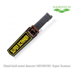 Hand-held metal detector MD3003B1 Super Scanner